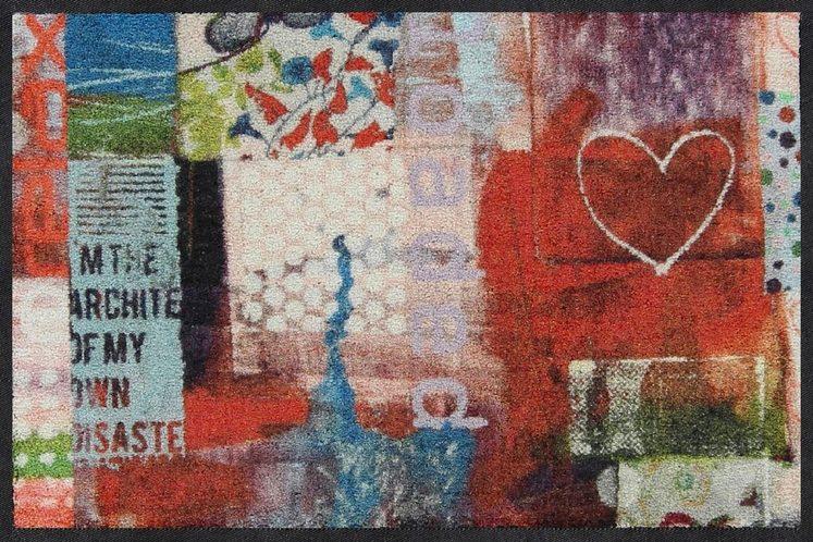 Fußmatte »Everything«, Salonloewe, rechteckig, Höhe 7 mm, waschbar