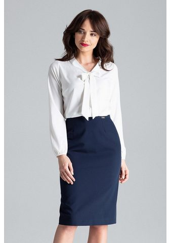 LENITIF Business-Bluse im eleganten Design