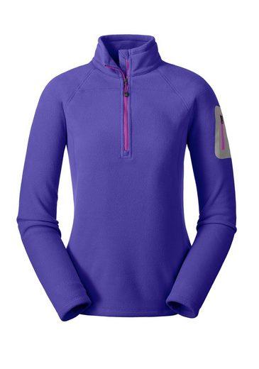 Eddie Bauer Вязаный пуловер Cloud Layer® Pro Fleeceshirt mit 1/4-Reissverschluss