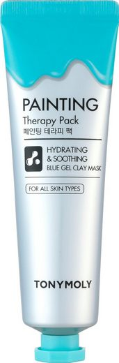 TONYMOLY Gesichtsmaske »Painting Therapy Hydrating & Calming Blue Color Gel Clay«