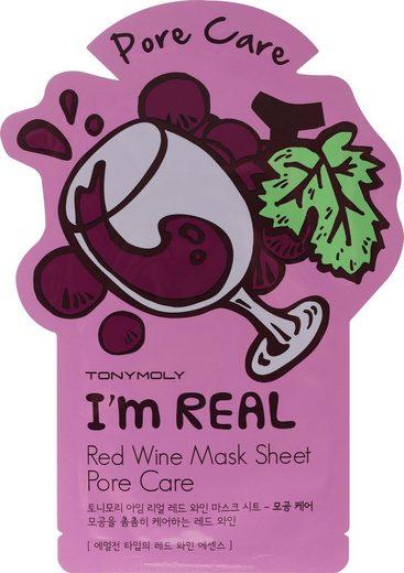 TONYMOLY Tuchmaske »I'm Red Wine«