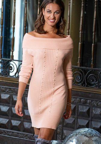 MELROSE Megzta suknelė