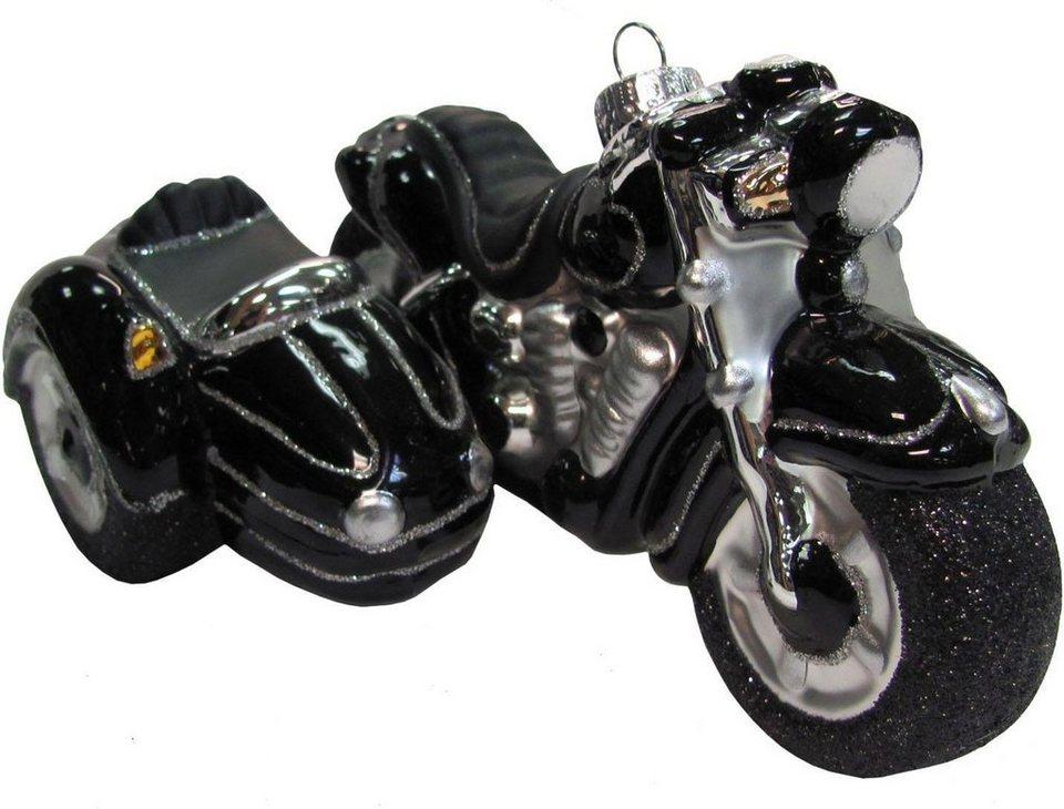 krebs glas lauscha christbaumschmuck motorrad mit beiwagen 1 tlg mundgeblasen online kaufen. Black Bedroom Furniture Sets. Home Design Ideas