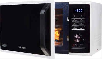 Samsung Mikrowelle MW3500 MS23K3515AW/EG, Mikrowelle, 23 l, mit Keramik-Emaille-Innenraum