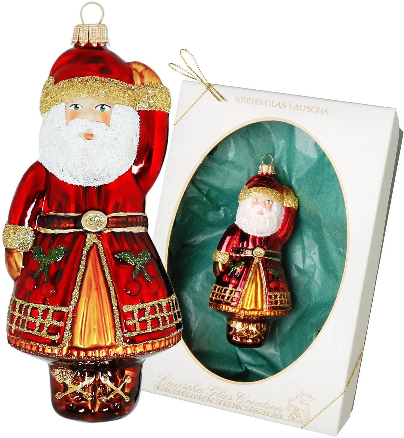 """Christbaumschmuck Glas /"""" Weihnachtsmann/"""""""