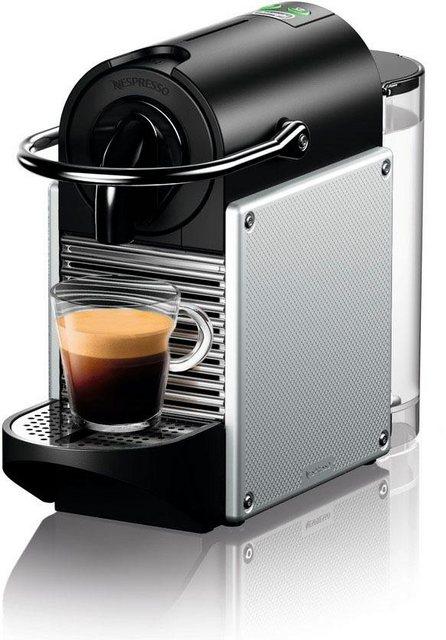 Nespresso Kapselmaschine De'Longhi Pixie EN 124.S, nur 11 cm breit mit Seitenteilen aus recycelten Nespressokapseln | Küche und Esszimmer > Kaffee und Tee > Espressomaschinen | Nespresso