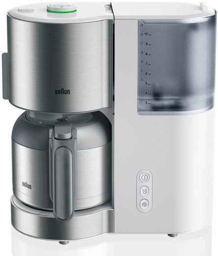 Braun Filterkaffeemaschine ID Collection KF 5105 WH weiß