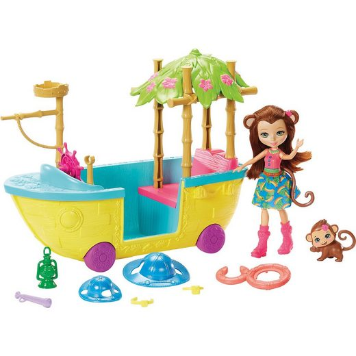 Mattel® Enchantimals Dschungelwald-Boot