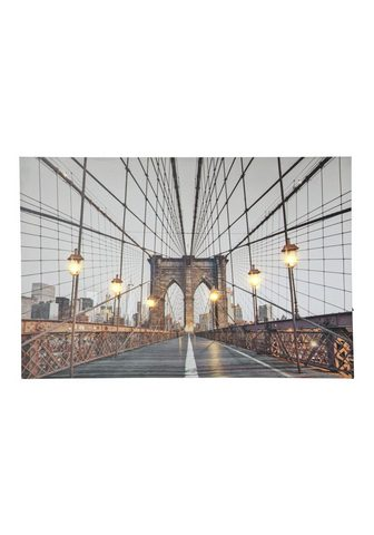 HEINE HOME LED paveikslas Brooklyn Bridge New Yor...