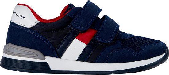 TOMMY HILFIGER »LOW CUT VELCRO« Sneaker mit doppeltem Klettverschluss