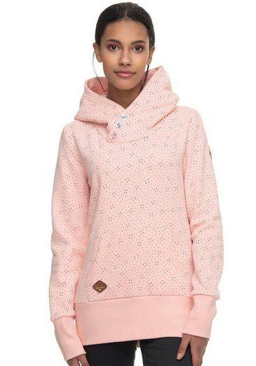 Ragwear Kapuzensweatshirt »CHELSEA DROP« mit multicolor Alloverprint