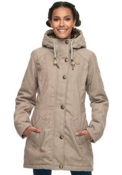 Winterjacke in beige online kaufen | OTTO