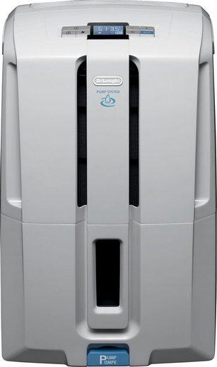 De'Longhi Luftentfeuchter DD230P, für 150 m³ Räume, Entfeuchtung 30 l/Tag, Tank 7 l