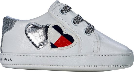 TOMMY HILFIGER »White« Sneaker mit modischer Verzierung