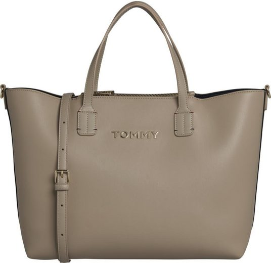 TOMMY HILFIGER Shopper »ICONIC TOMMY SATCHEL SOLID«, in schlichter Optik