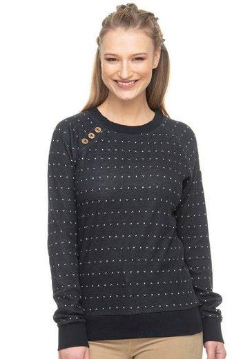 Ragwear Sweater »DARIA DOTS« mit Allover-Druck