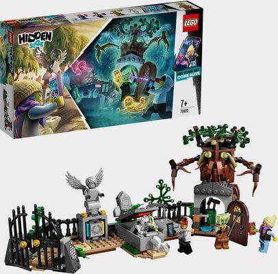 LEGO® Konstruktionsspielsteine »Geheimnisvoller Friedhof (70420), LEGO® Hidden Side™«, (335 St)