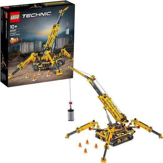 LEGO® Konstruktionsspielsteine »Spinnen-Kran (42097), LEGO® Technic«, (920 St)
