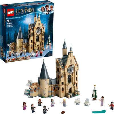 LEGO® Konstruktionsspielsteine »Hogwarts™ Uhrenturm (75948), LEGO® Harry Potter«, (922 St), Made in Europe