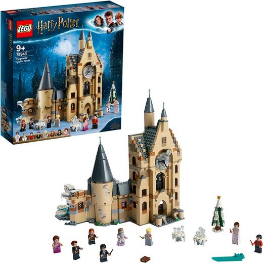 LEGO® Konstruktionsspielsteine »Hogwarts™ Uhrenturm (75948), LEGO® Harry Potter«, (922 St)