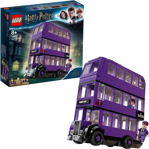 LEGO® Konstruktionsspielsteine »Der Fahrende Ritter™ (75957), LEGO® Harry Potter«, (403 St)