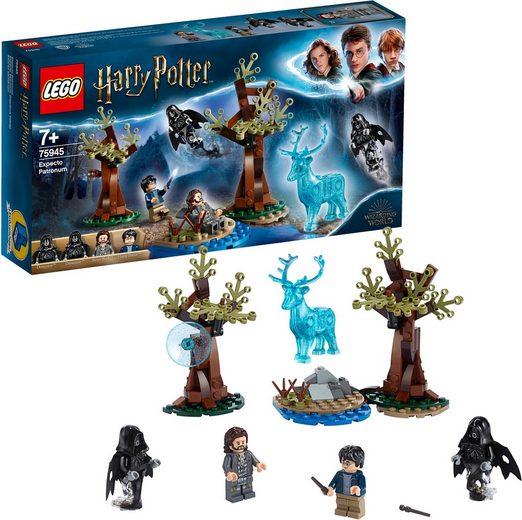 LEGO® Konstruktionsspielsteine »Expecto Patronum (75945), LEGO® Harry Potter™«, (121 St)