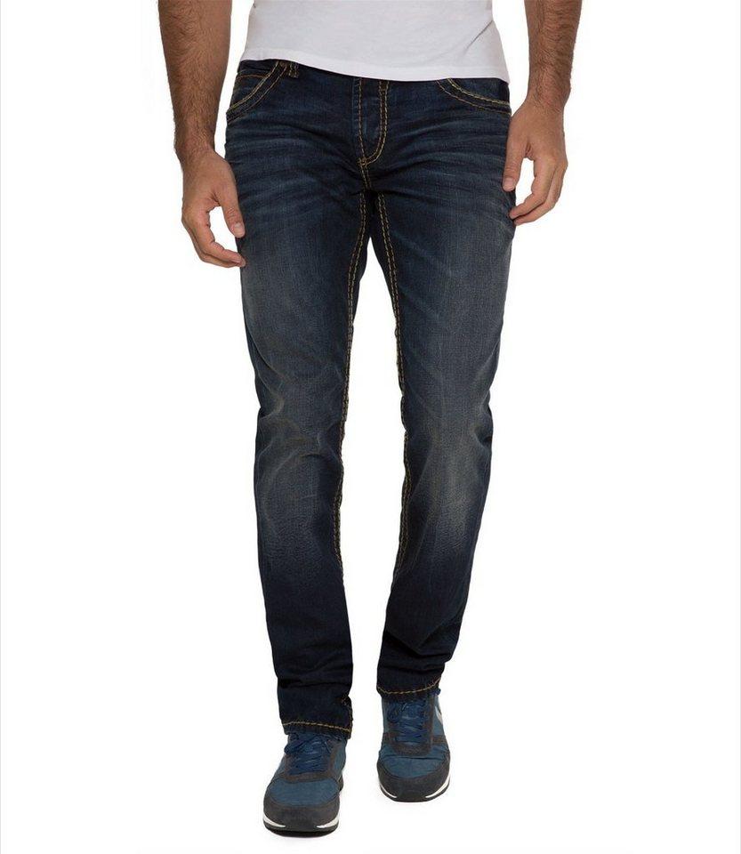 fashion style official store wholesale online CAMP DAVID Regular-fit-Jeans mit Kontrast-Steppungen online kaufen | OTTO