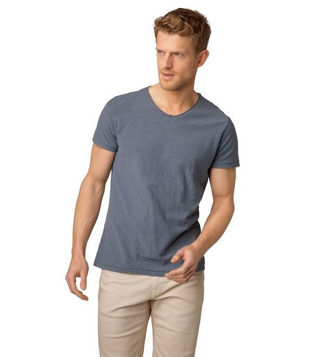 CAMP DAVID T-Shirt mit maskulinem V-Ausschnitt