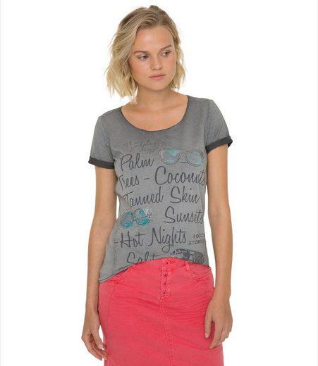 SOCCX T-Shirt mit Artwork