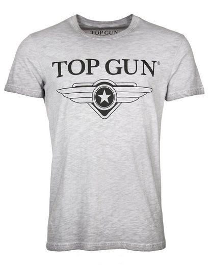 TOP GUN T-Shirt »Windy« sportlicher Schnitt