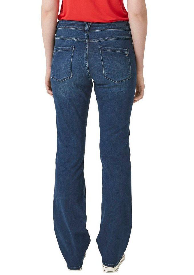 s oliver bootcut jeans in gem igter beinweite otto. Black Bedroom Furniture Sets. Home Design Ideas