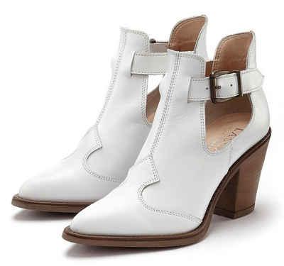 wholesale dealer 071a7 d67ac Stiefeletten in weiß online kaufen | OTTO