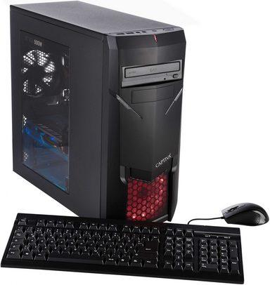 CAPTIVA Advanced Power 45343 Gaming-PC (Intel Core i7, GTX 1050 Ti, 8 GB RAM, 2000 GB HDD, Luftkühlung)