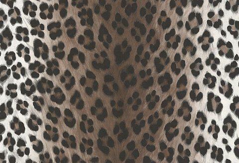 Sonstiges, Livingwalls, »Mustertapete in Leopardenfell-Optik« in leopard-weiss