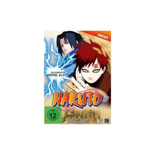 DVD Naruto 08 & 09 - Haruna und die Janin/Das Team Ongaeshi