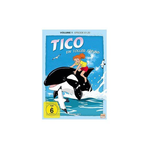 DVD Tico - Ein toller Freund - Volume 1: Episode 01-20