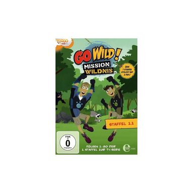 Edel DVD Go Wild! - Mission Wildnis BOX 1.1 (2 DVDs)