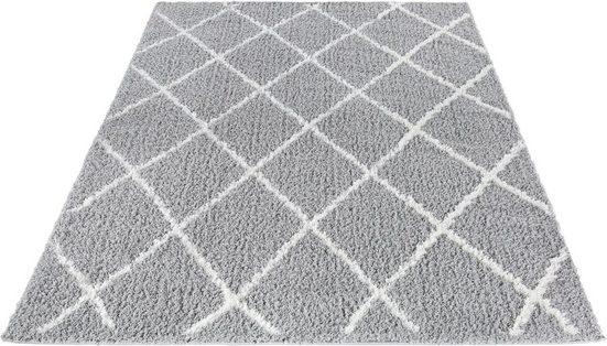 Hochflor-Teppich »Pula 79803«, LUXOR living, rechteckig, Höhe 35 mm