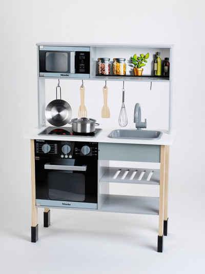 Klein Spielküche »Miele« MDF, mit Zubehör aus Holz und Metall, FSC®-Holz aus gewissenhaft bewirtschafteten Wäldern