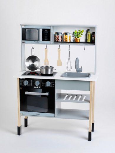 Klein Spielküche »Miele« MDF, mit Zubehör aus Holz und Metall