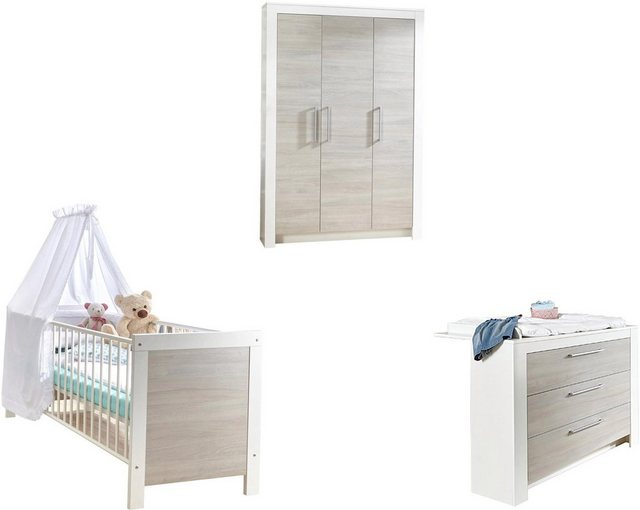 Babyzimmer - arthur berndt Babyzimmer Komplettset »Toni«, (Set, 3 tlg), Made in Germany  - Onlineshop OTTO