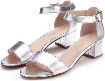 Silberne Sandalen online kaufen | Unverzichtbar für den