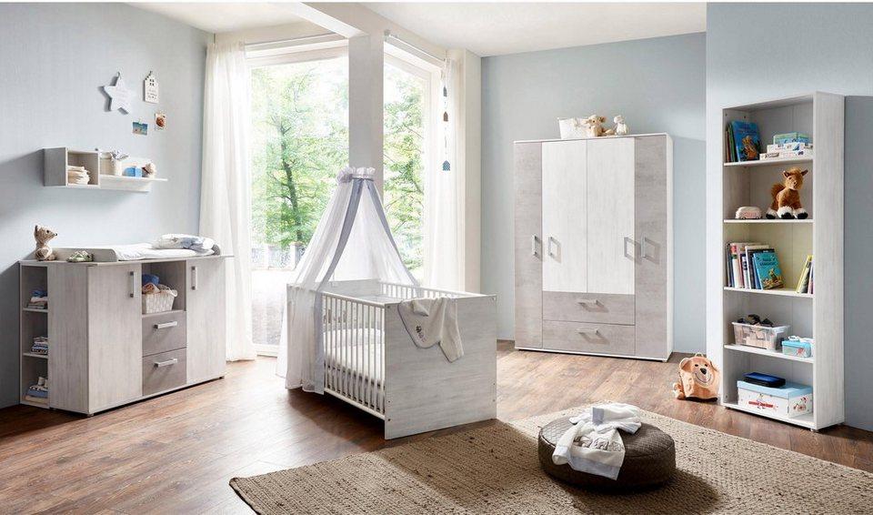 arthur berndt Babyzimmer-Komplettset »Insa (3-tlg)«, mit Eckkleiderschrank  online kaufen | OTTO