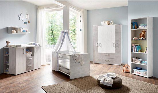 arthur berndt Babyzimmer-Komplettset »Insa«, (Set, 3-tlg), Made in Germany