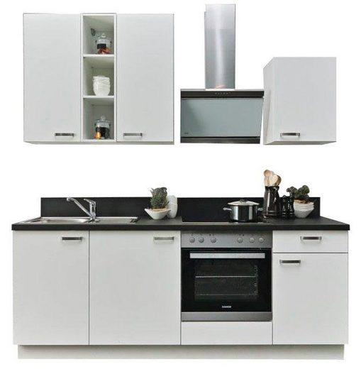 Express Küchen Küchenzeile »Bari«, ohne E-Geräte, Breite 220 cm