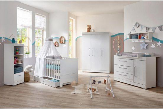 arthur berndt Babyzimmer-Komplettset »Joris (3-tlg)«, (Set, 3-tlg)