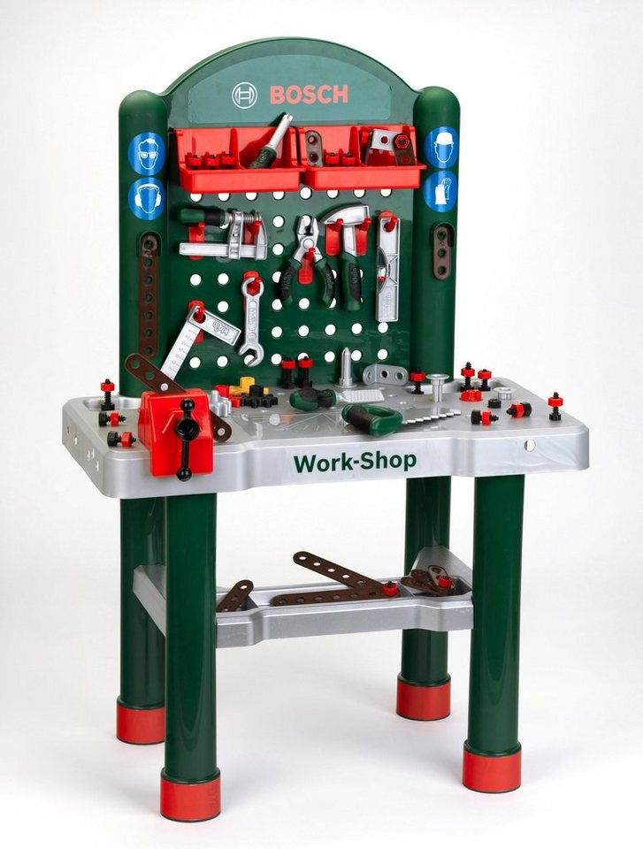"""Klein Werkbank »Bosch Workshop«, Bosch """"Work-Shop"""" für ..."""