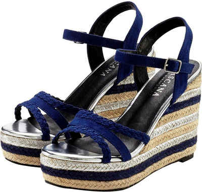 LASCANA High Heel Sandalette mit Keilabsatz