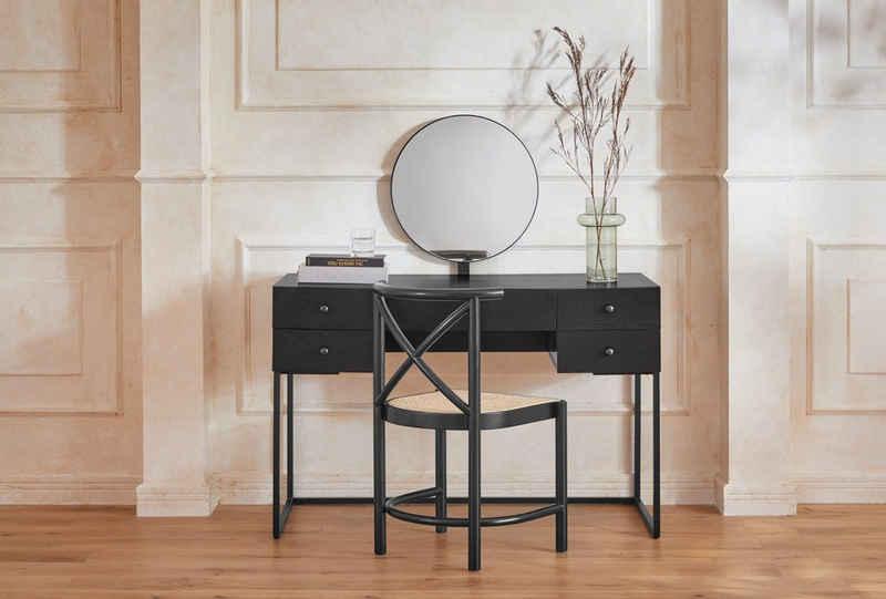 Guido Maria Kretschmer Home&Living Schminktisch »Douxmi«, 1,8 cm starke Tischplatte, viel Stauraum, Pflegeleicht, Breite 120 cm