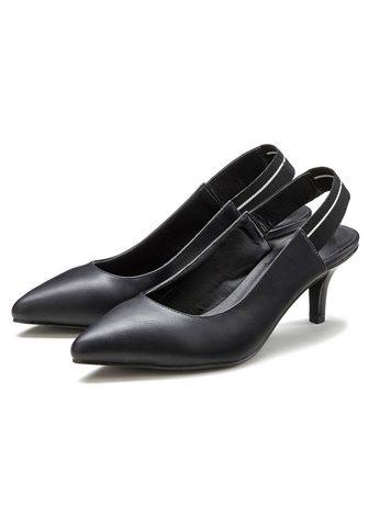 LASCANA Туфли с открытой пяткой